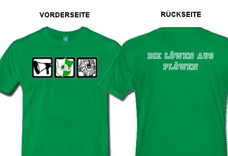 Rundumansicht FRV Plöwen Fan T-Shirt