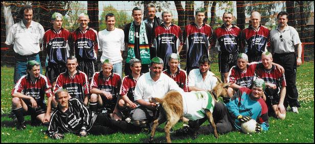 Mannschaftsfoto FRV Plöwen 2001/2002