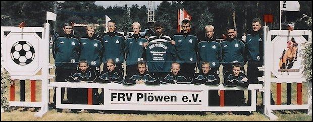 Mannschaftsfoto FRV Plöwen 2003/2004