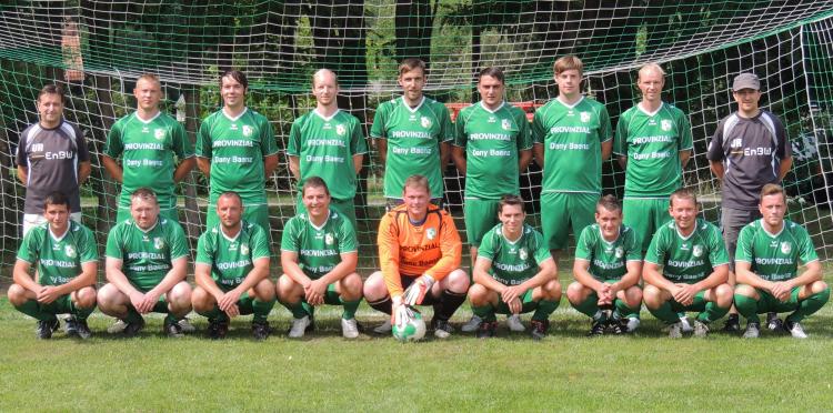 Mannschaftsfoto des FRV Plöwen der Saison 2013/2014