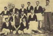 Mannschaftsfoto FRV Plöwen 1945